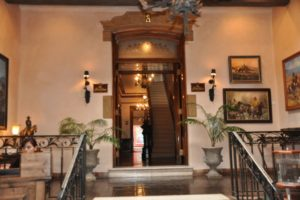 Entrance to Staab House from La Posada lobby www.10best.com