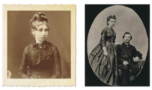 Young Julia Staab and Julia & Abraham