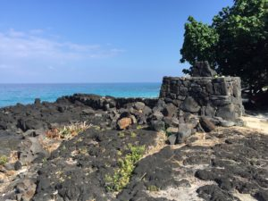 Ancient heiau on the Kona coast