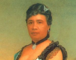 """Breathing"" portrait of Queen Liliuokalani"