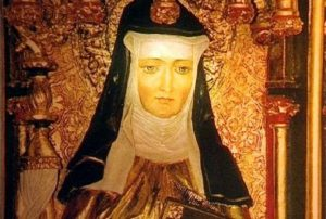 painting of Hildegard - history