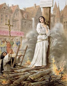 Joan at the stake