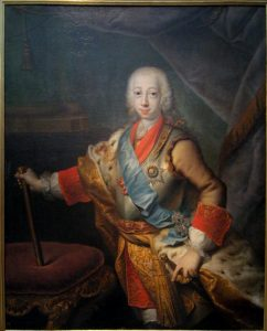 Young Peter III of Russia