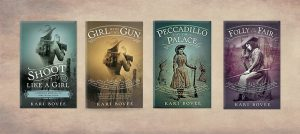 historical mystery series annie oakley kari bovee historical fiction