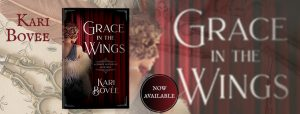 historical mystery book Grace in the wings Kari Bovee