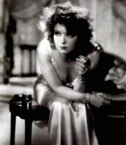 Clara Bow evening gown