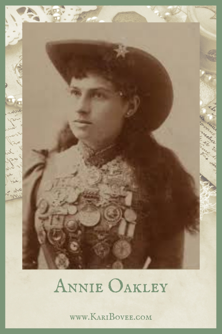 Annie Oakley | Kari Bovee | Empowered Women in History