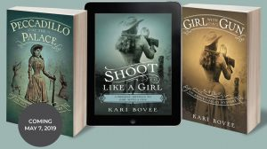 annie oakley mystery series kari bovee novel author