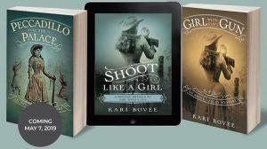 annie oakley mystery series kari bovee novel author
