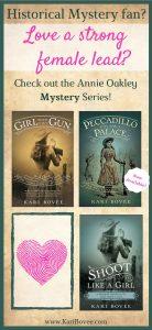 historical fiction books author Kari Bovee Annie Oakley Mystery Series