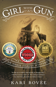 Award winning western mystery books by Kari Bovée