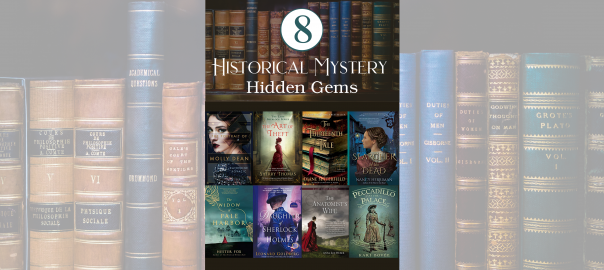 Historical Fiction Books - HIstorical Mystery Hidden Gems - Kari Bovée Historical Mystery Author