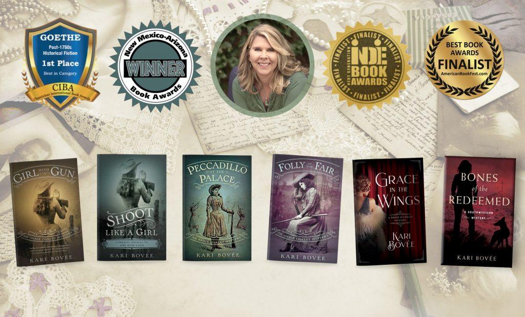 Books by Author Kari Bovee - Historical Mystery Author